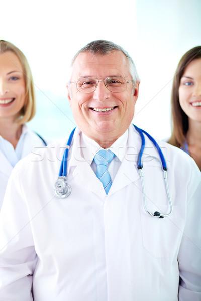 Happy doctor Stock photo © pressmaster