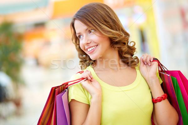 Lady shopper Stock photo © pressmaster