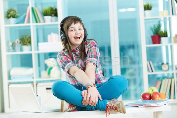 Teen entertainment Stock photo © pressmaster