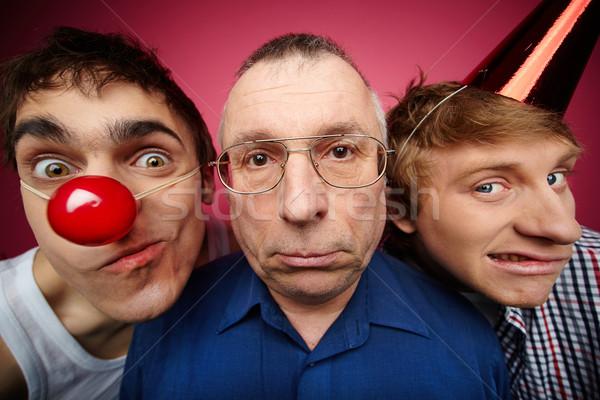 Three fools Stock photo © pressmaster