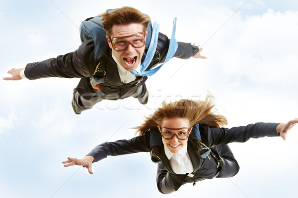 Stock photo: Flying