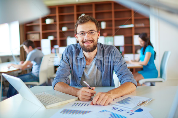 Successful businessman Stock photo © pressmaster