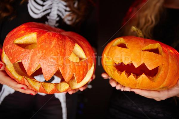 Halloween grins Stock photo © pressmaster