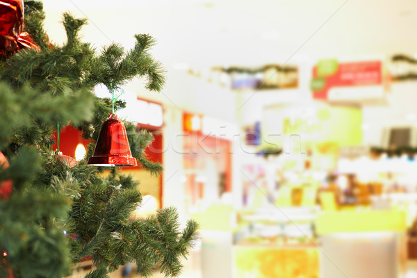 Stockfoto: Bel · tak · Rood · speelgoed · opknoping