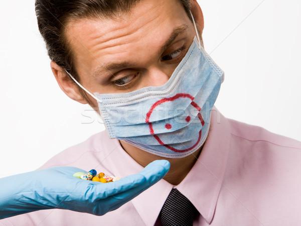 Pig flu remedy Stock photo © pressmaster