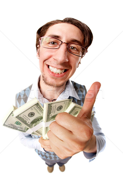 Man with money Stock photo © pressmaster
