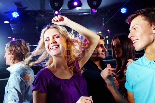 Baile imagen bastante clubbing amigos Foto stock © pressmaster