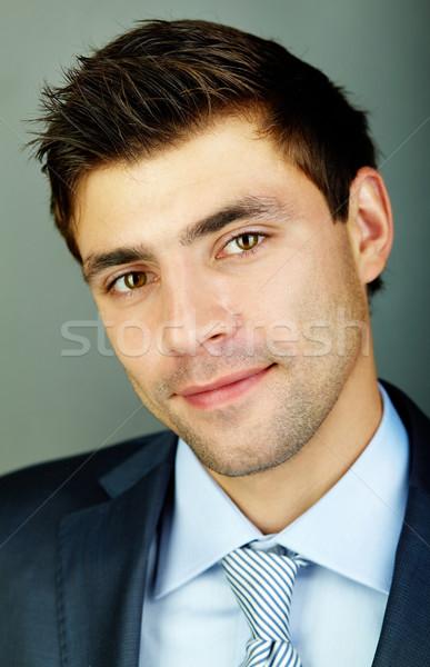 Positive businessman Stock photo © pressmaster