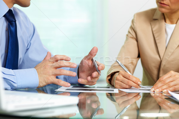 Stock photo: Business situation