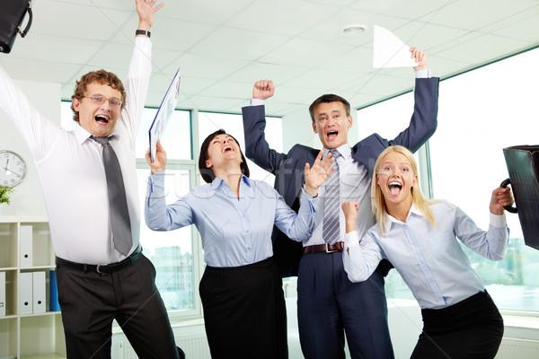 Successful partners Stock photo © pressmaster