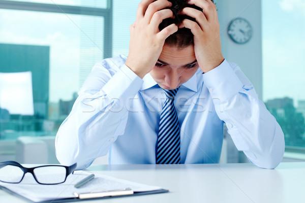 Stock photo: Frustration