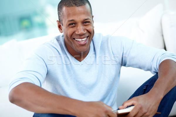 Feliz tipo imagen jóvenes África hombre Foto stock © pressmaster