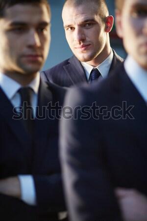 Lid team gezicht knap zakenman naar Stockfoto © pressmaster
