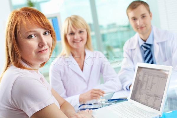 Patient in clinic Stock photo © pressmaster