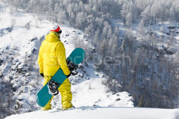 On top of mountain Stock photo © pressmaster