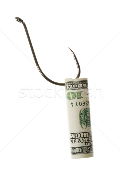 Buit creatieve afbeelding metaal dollar bankbiljet Stockfoto © pressmaster