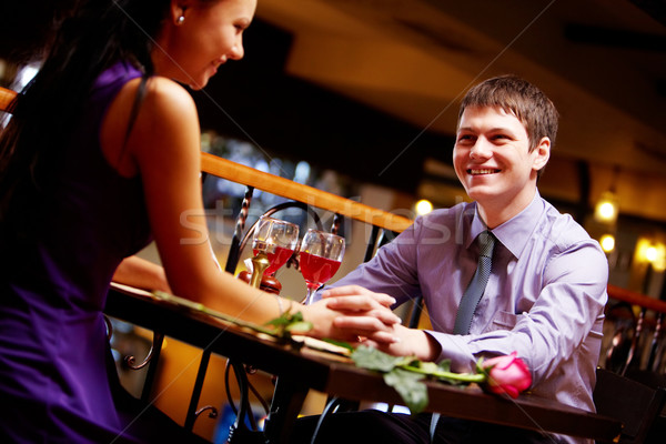 Amorous people Stock photo © pressmaster