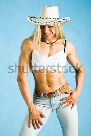 Harsh girl Stock photo © pressmaster