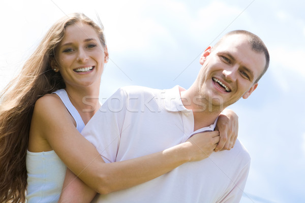 Stock photo: Man and woman