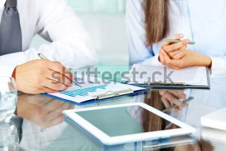 Making business notes Stock photo © pressmaster