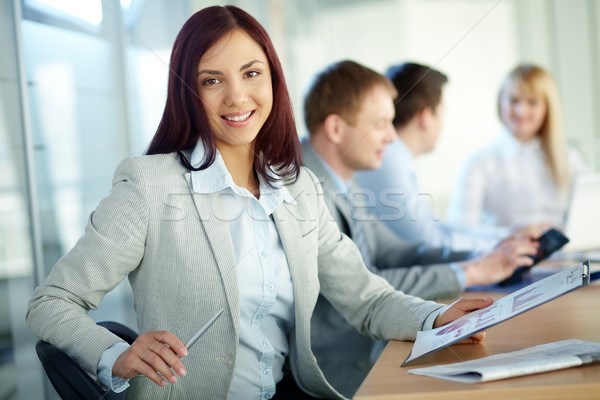 Lady in business Stock photo © pressmaster
