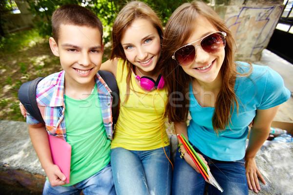 学校 友達 肖像 グループ 良い ストックフォト © pressmaster