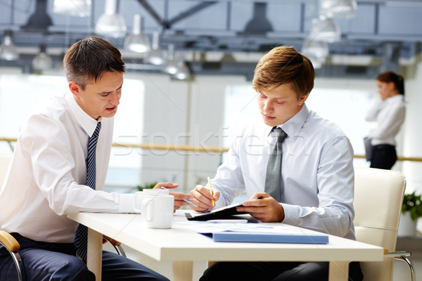 Business coaching Stock photo © pressmaster