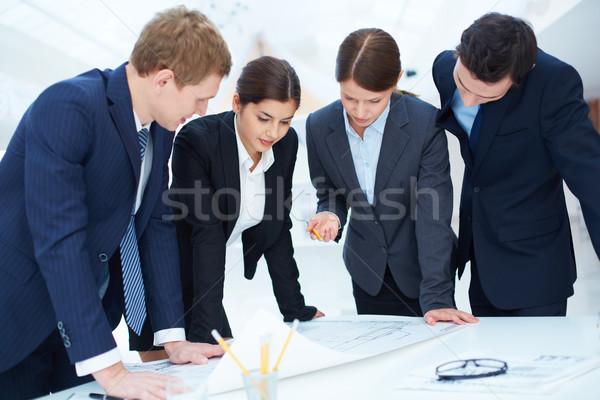 Engineers at work Stock photo © pressmaster