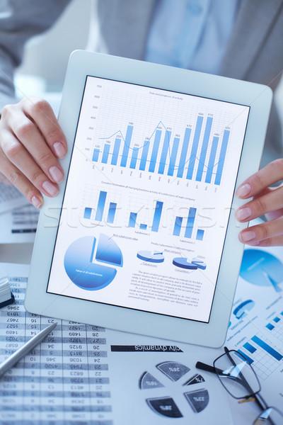 Digital diagrams and graphs Stock photo © pressmaster