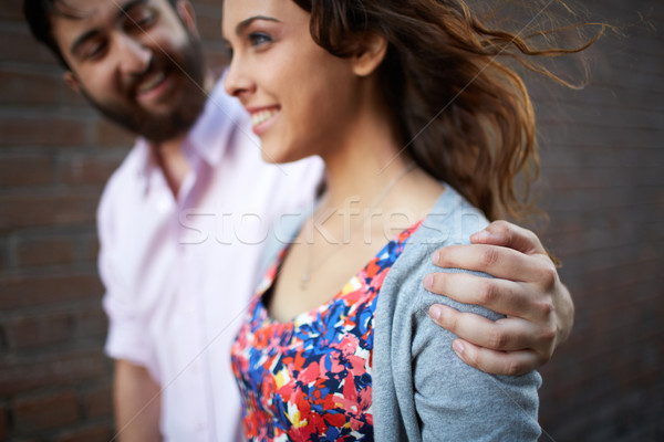 Girl and her sweetheart Stock photo © pressmaster