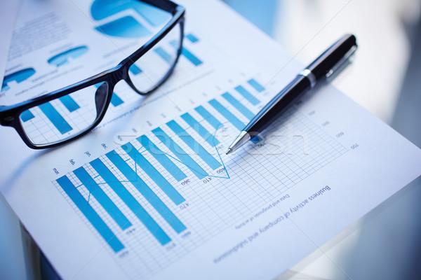 Financial report Stock photo © pressmaster