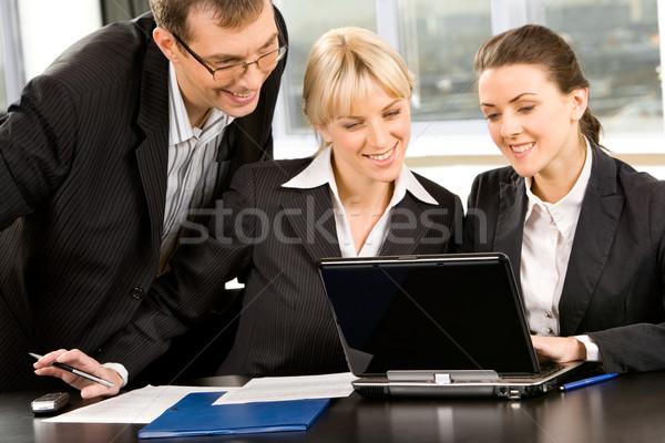 Three people Stock photo © pressmaster
