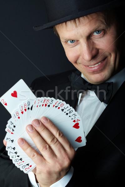 Card trick Stock photo © pressmaster