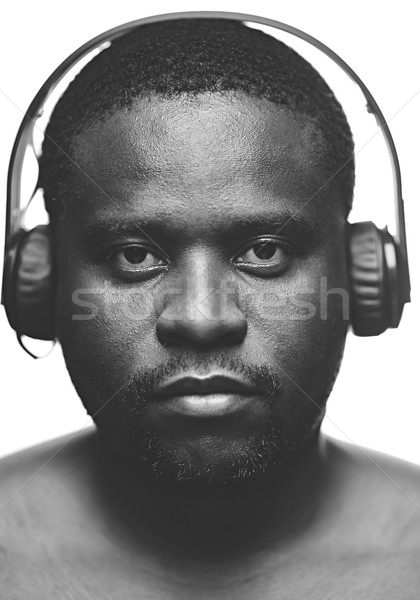 Serious listener Stock photo © pressmaster