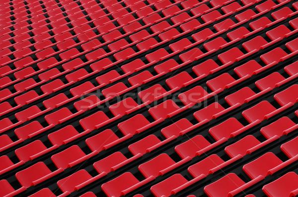 Red seats Stock photo © pressmaster