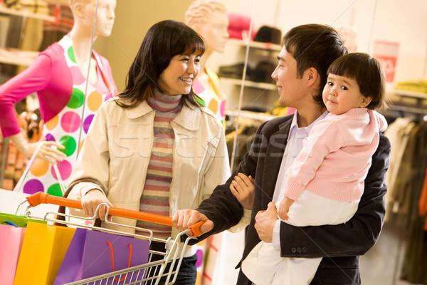 Family shopping Stock photo © pressmaster
