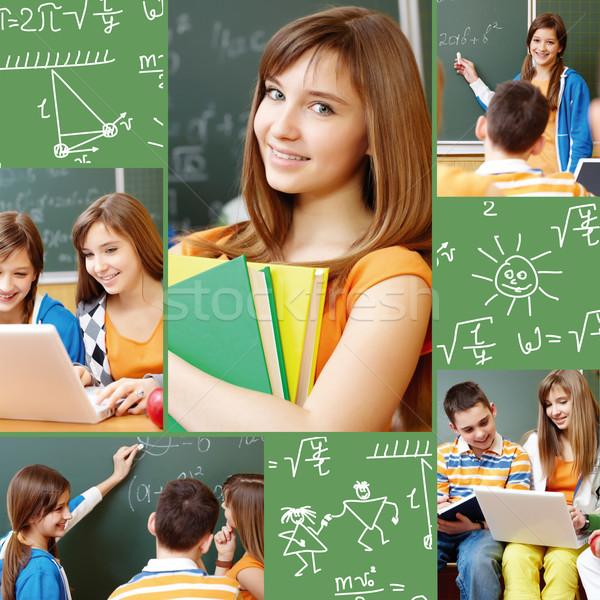 Schoolwork Stock photo © pressmaster