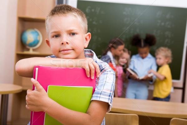 школьник изображение Smart парень глядя камеры Сток-фото © pressmaster