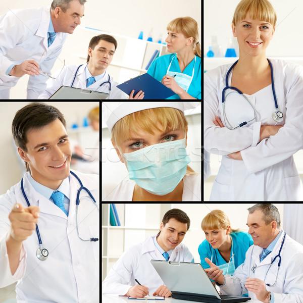 Clinicians Stock photo © pressmaster
