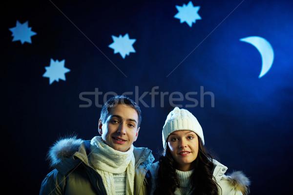 Winter night Stock photo © pressmaster