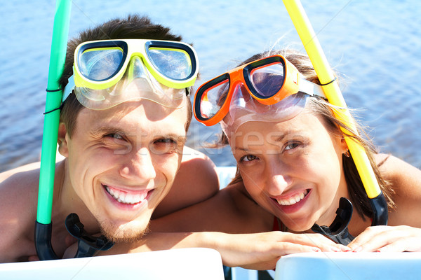 Scuba divers Stock photo © pressmaster