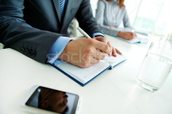 At seminar Stock photo © pressmaster