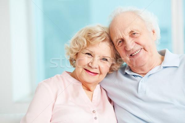 Сток-фото: счастливым · пенсия · портрет · откровенный