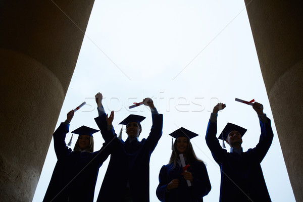 End of college Stock photo © pressmaster