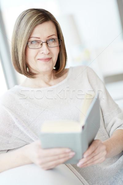Woman reading Stock photo © pressmaster