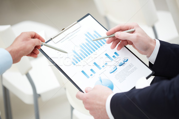 Business analysis Stock photo © pressmaster