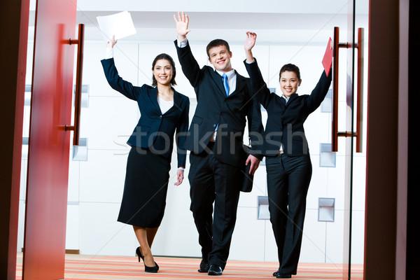 Greeting Stock photo © pressmaster