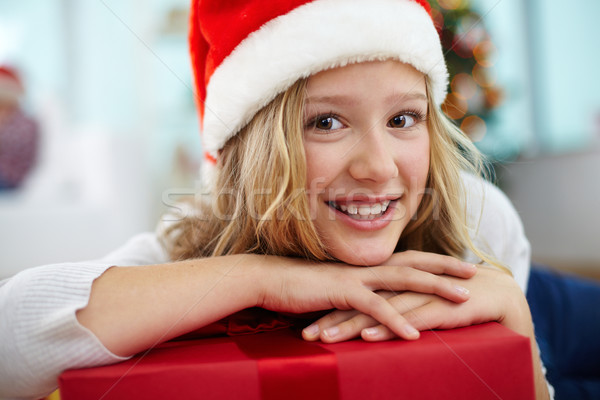 Youngster with gift Stock photo © pressmaster
