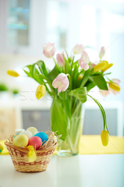 Easter composition Stock photo © pressmaster
