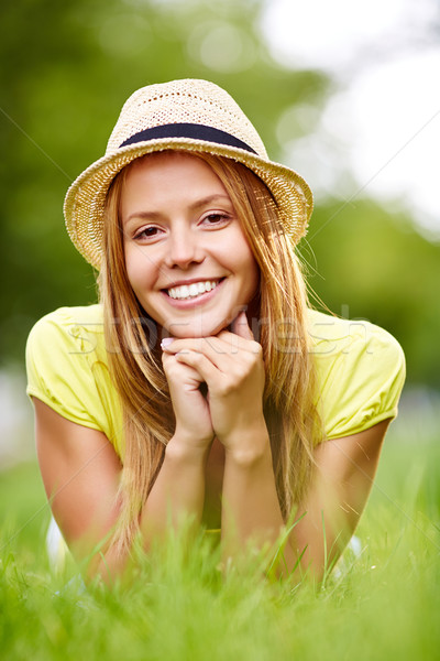 Restful female Stock photo © pressmaster